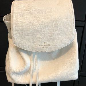 Kate Spade EUC White Backpack
